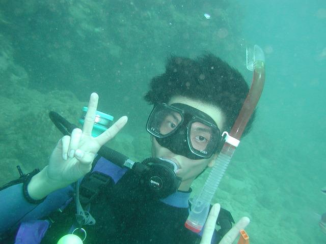 Certified as Open Water Scuba Diver
