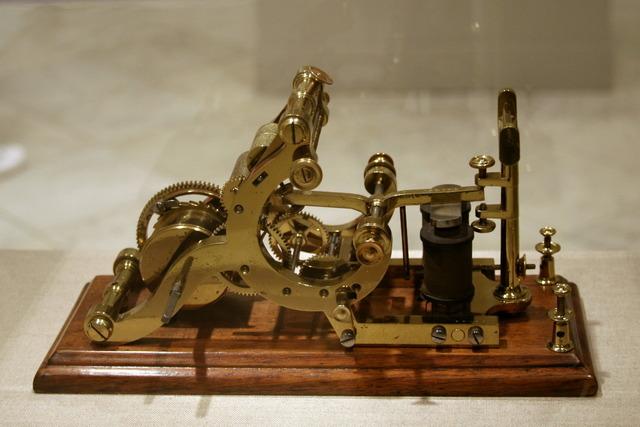 Aparició del telègraf (patent)