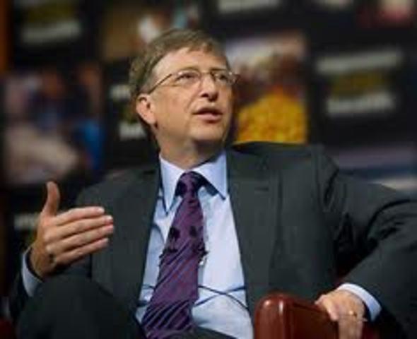 Bill Gates enters Harvard