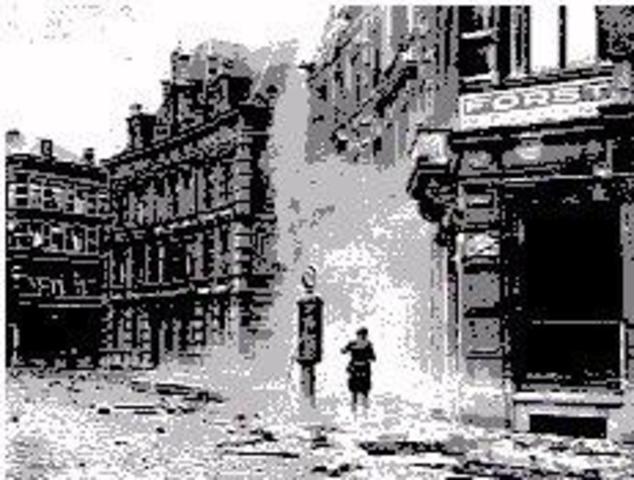 Belgium Surrenders To Germany