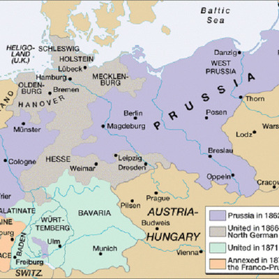 Chapter 25.2 The Unification of Germany timeline