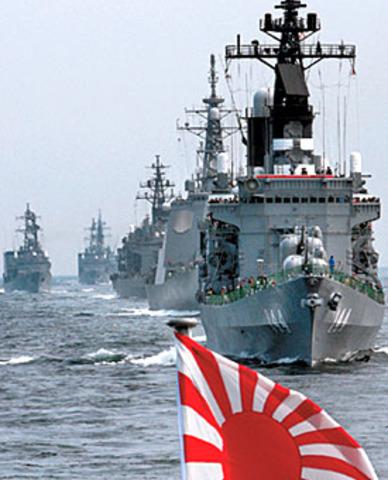 Japan losing naval superiority