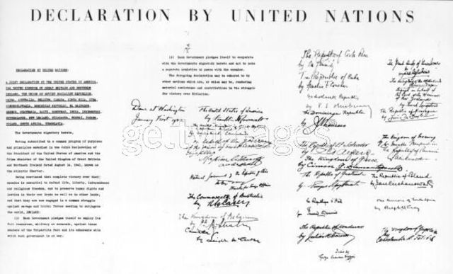 The Declaration of the United Nations