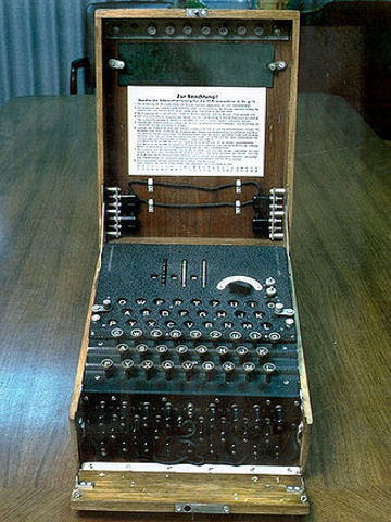 Enigma messages decoded