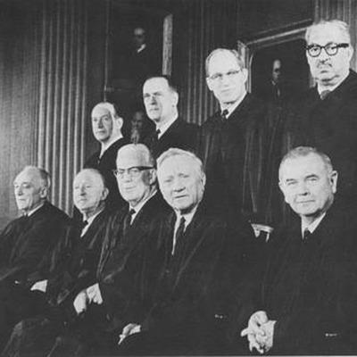 Warren Court Legal Decisions timeline