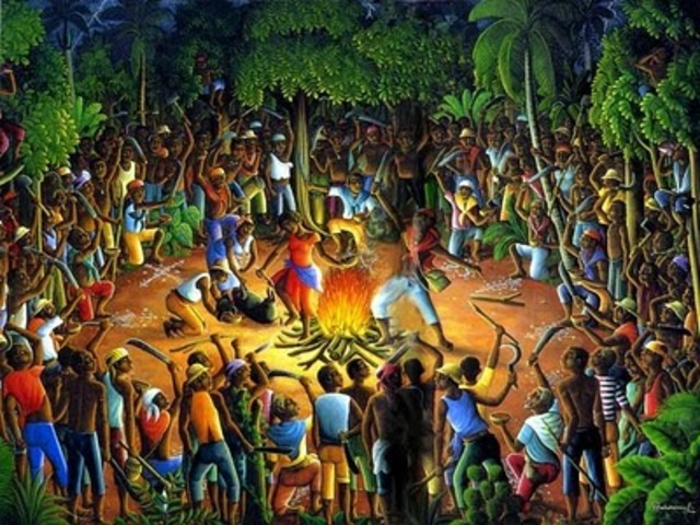 Creole and African slave pact