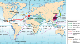 Las Exploraciones castellanas timeline