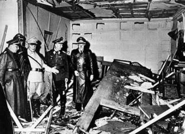Assassination Attempt on Hitler