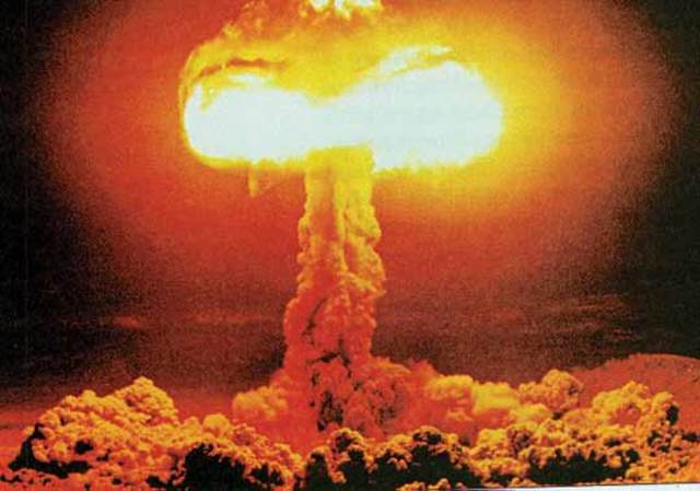 The United States drops atomic bomb on Japan