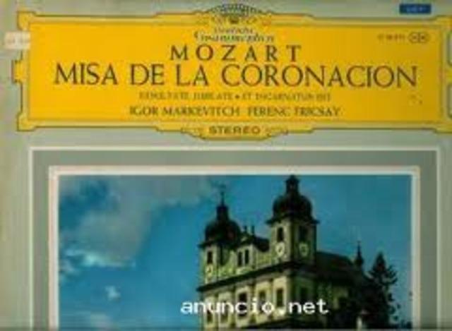 Compuso su Misa de la Coronación.