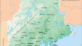 Maine's History timeline