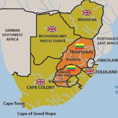 The colonial history of South Africa timeline