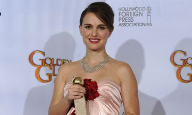Natalie won a Golden Globe Award for her role in the film
