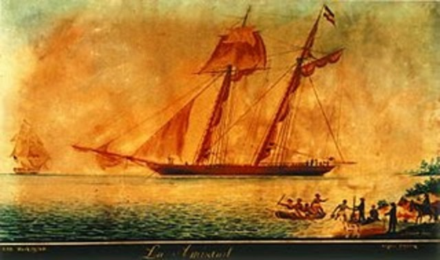 Revolt on La Amistad