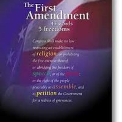 1st ammendment court cases timeline