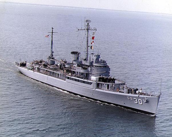 North Korea captures USS Pablo