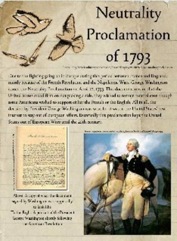 George washington proclamation of neutrality