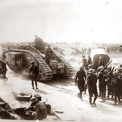 World War I Timeline.