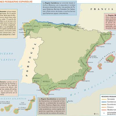 Cronología básica para el sector pesquero español timeline