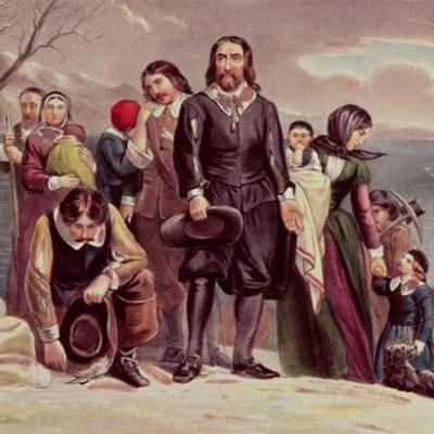 Pilgrims in America timeline