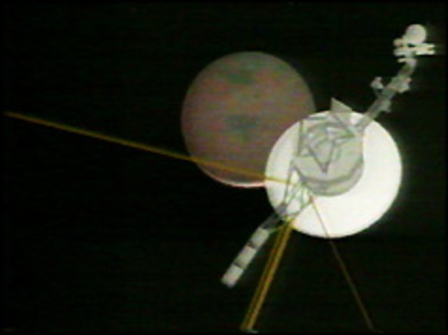 voyager space craft reaches neptune