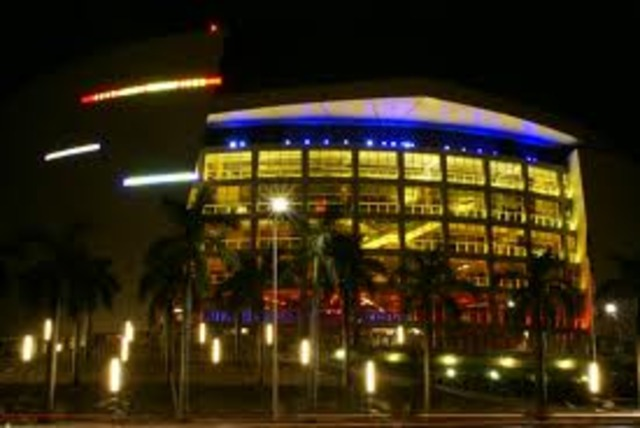 Knock Out Concert at American Airlines Arena- Miami