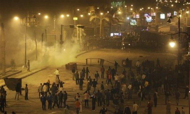 Bloody conflict in Suez