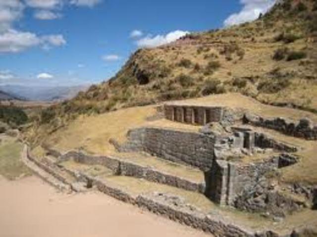 los  incas se instalan en cuzco