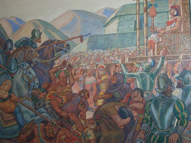 Francisco Pizarro arrived to Cajamarca