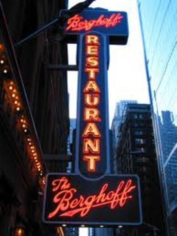 Dinner at Berghoff Resturaunt