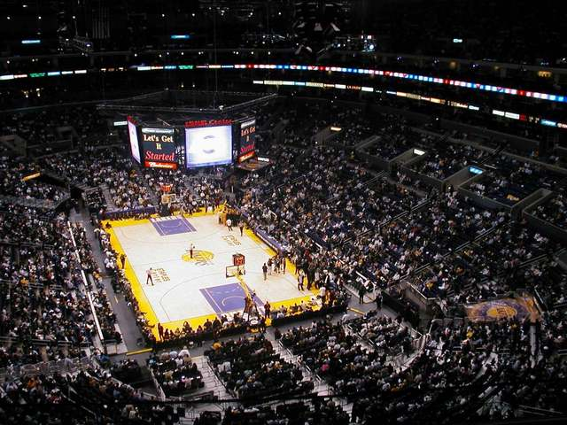 Knock Out Concert at the Staples Center