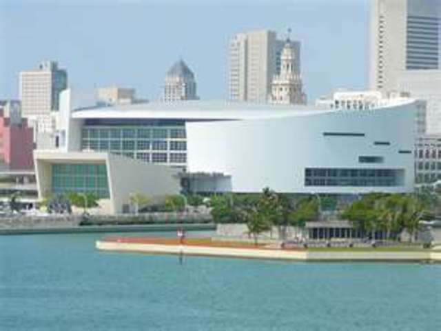 Concert at the American Airlines Arena