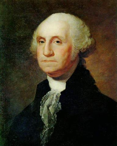 George Washington elected 1st President
