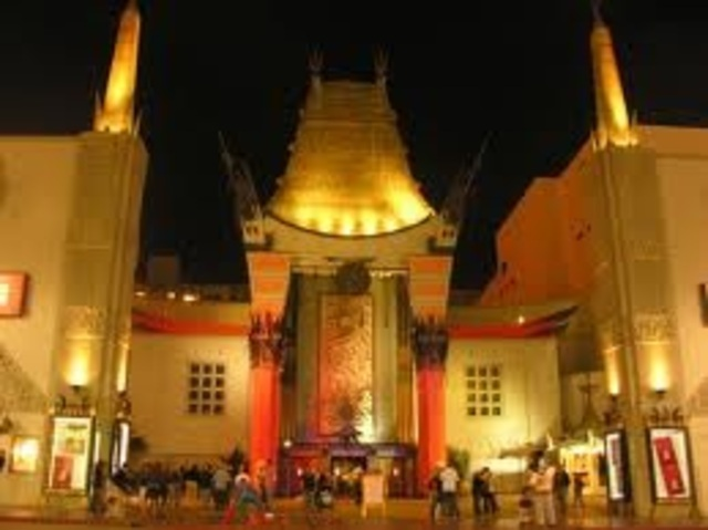 L.A. Photo Shoot; Grauman's Chinese Theater.
