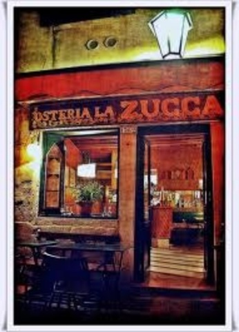 Dining At Zucca Restorante in L.A