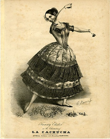 Fanny Elssler Makes her Debut at the Paris Opera