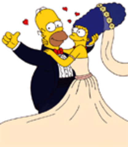 Homer married