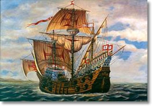 Portugese exploration reaches china