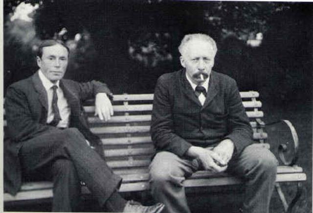 Willam Bateson and Reginald Punnett