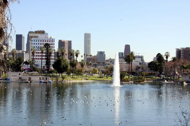 McArthur Park- Los Angeles photo shoot