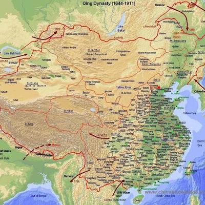 Qing Dynasty timeline