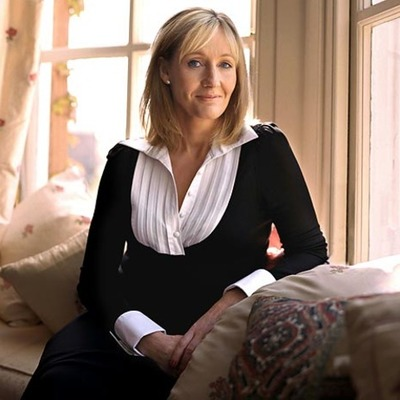 J.K. Rowling author of the Harry Potter series timeline