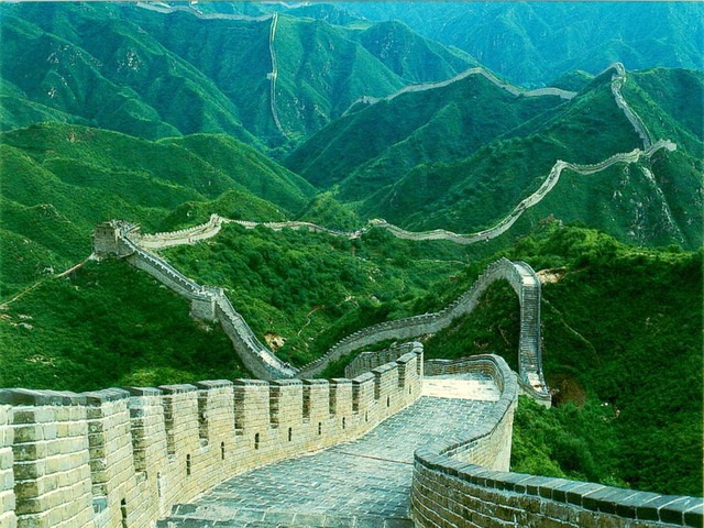 The Great Wall of the Ming Dynasty