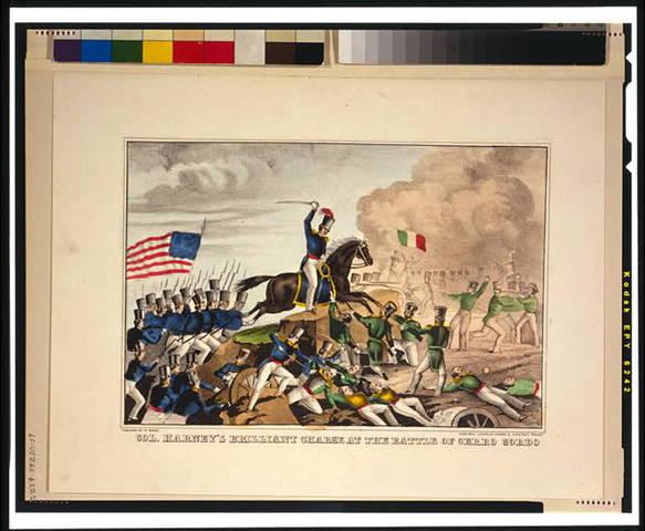 US victory; Battle of cerro gordo