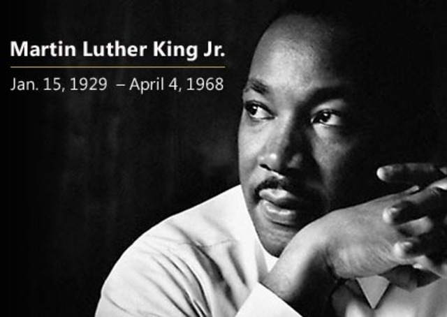 4 april Civil Rights Leader The Rev. Martin Luther King Jr. is assassinate in Mephis, Tennessee, unleashing violence in more than 100 cities.
