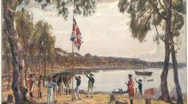 The Settlement Of Australia  timeline