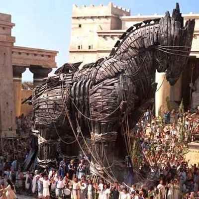 The Trojan War timeline