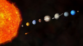 The Solar System timeline