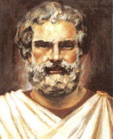Tales, filósofo griego nacido en Mileto.