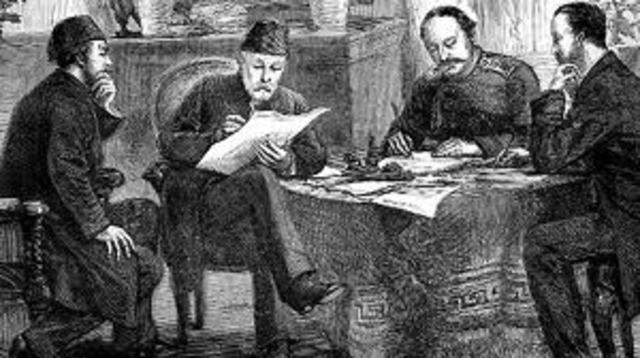 Firma del Tratado de San Stefano